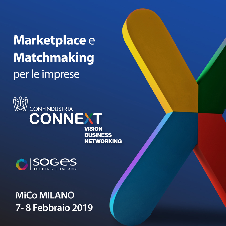 SOGES a Connext 2019 Confindustria